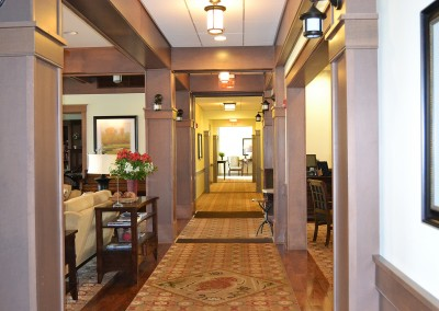 Lodge corridor