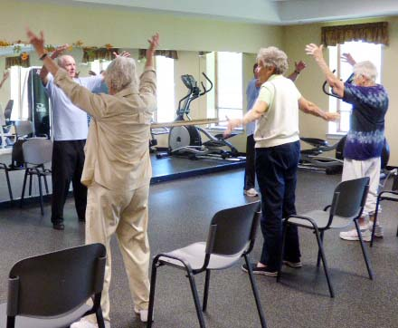 Tai Chi at Avila Retirement Community