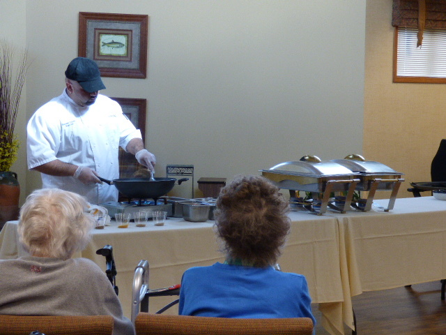 Cooking with Chef Brandon - Avila Retirement Community