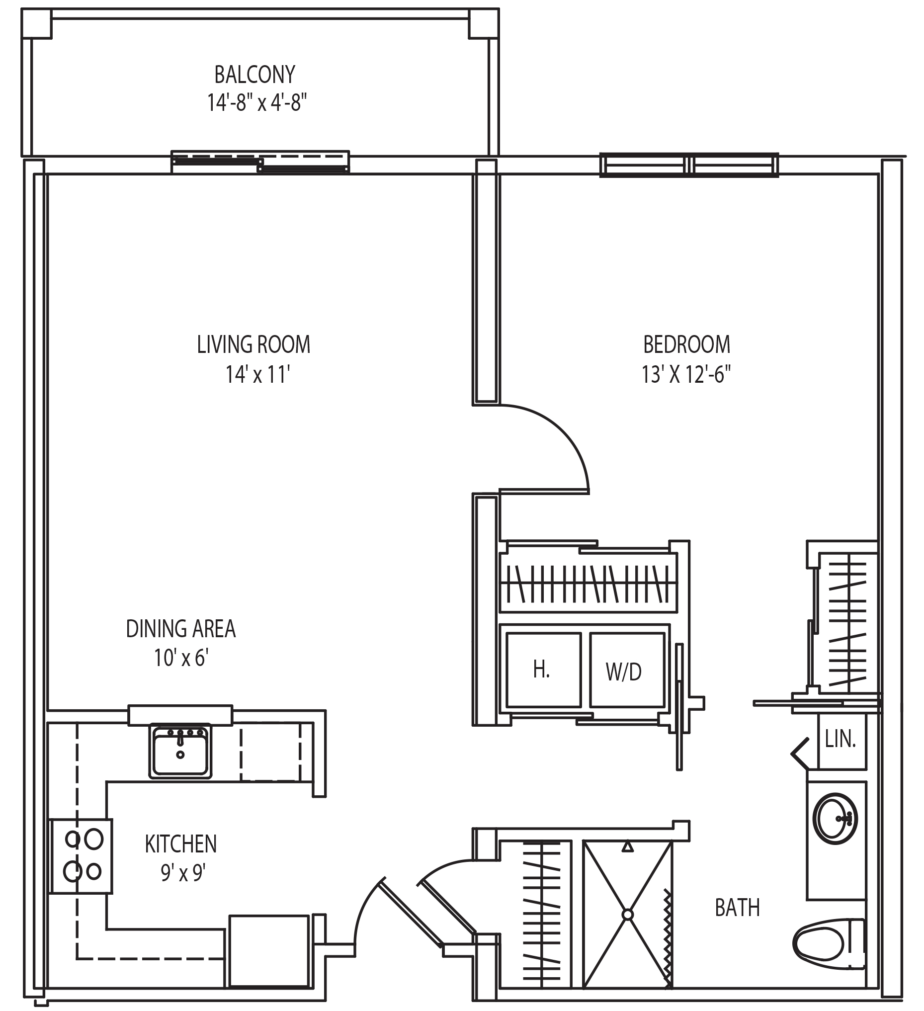 arlington floor plan