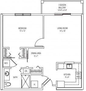 Bolton 1 bedroom