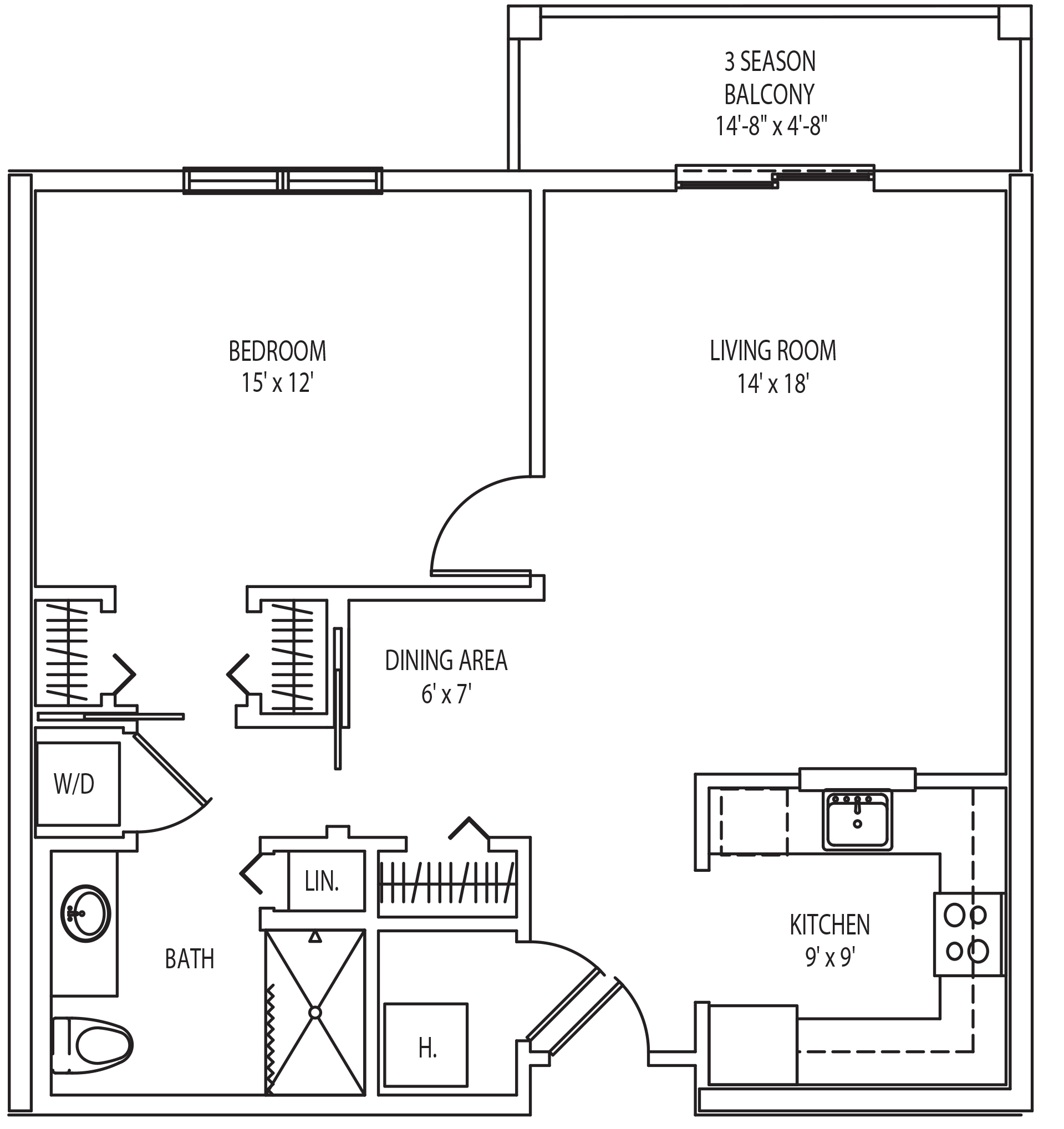 Bolton 1 bedroom