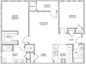 Collier floorplan