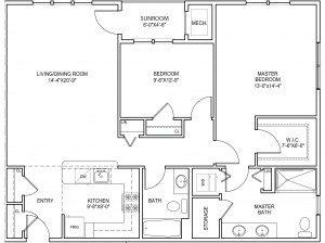 Collier floor plan