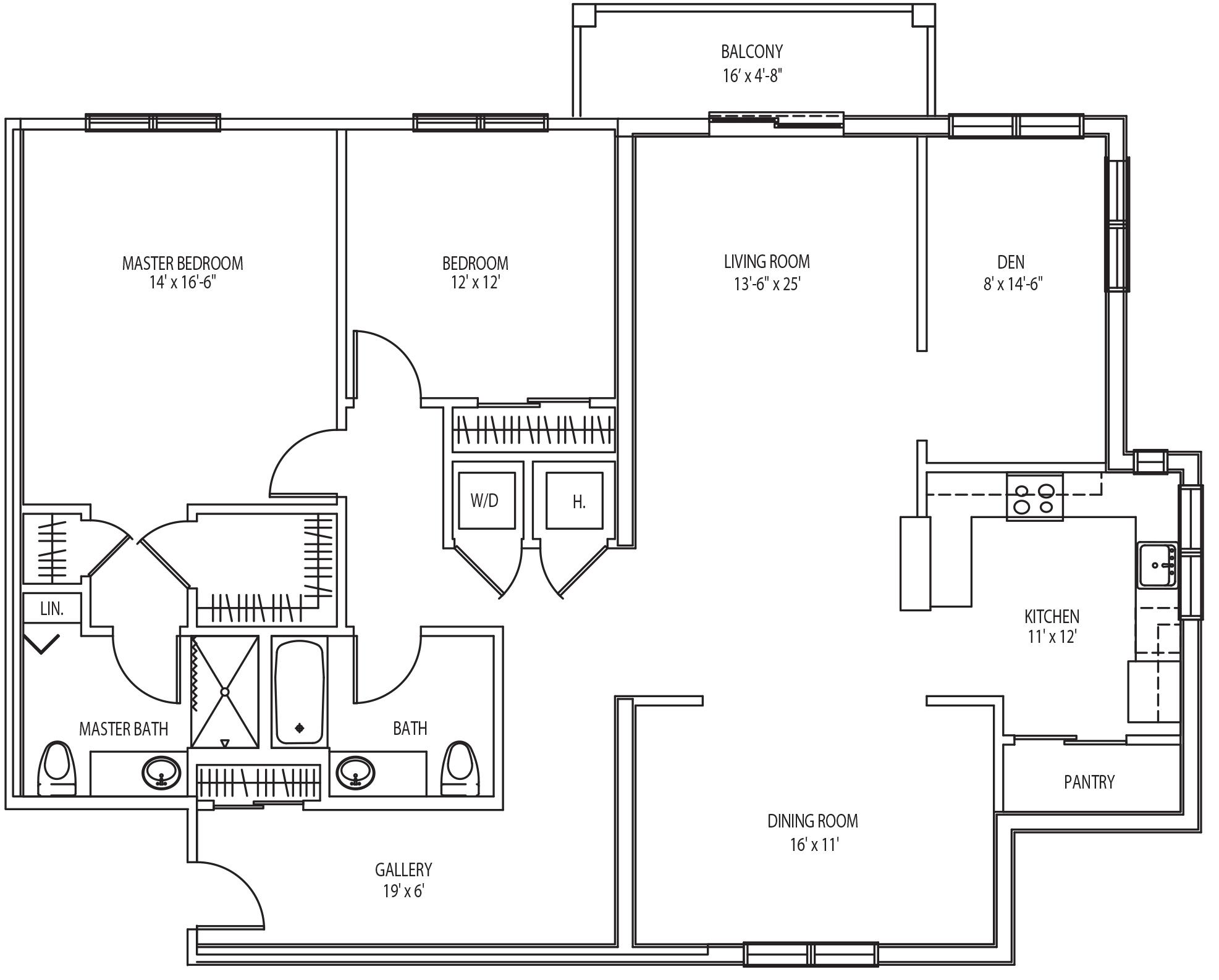 fenimore floor plan