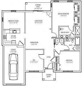Knollwood cottage floorplan