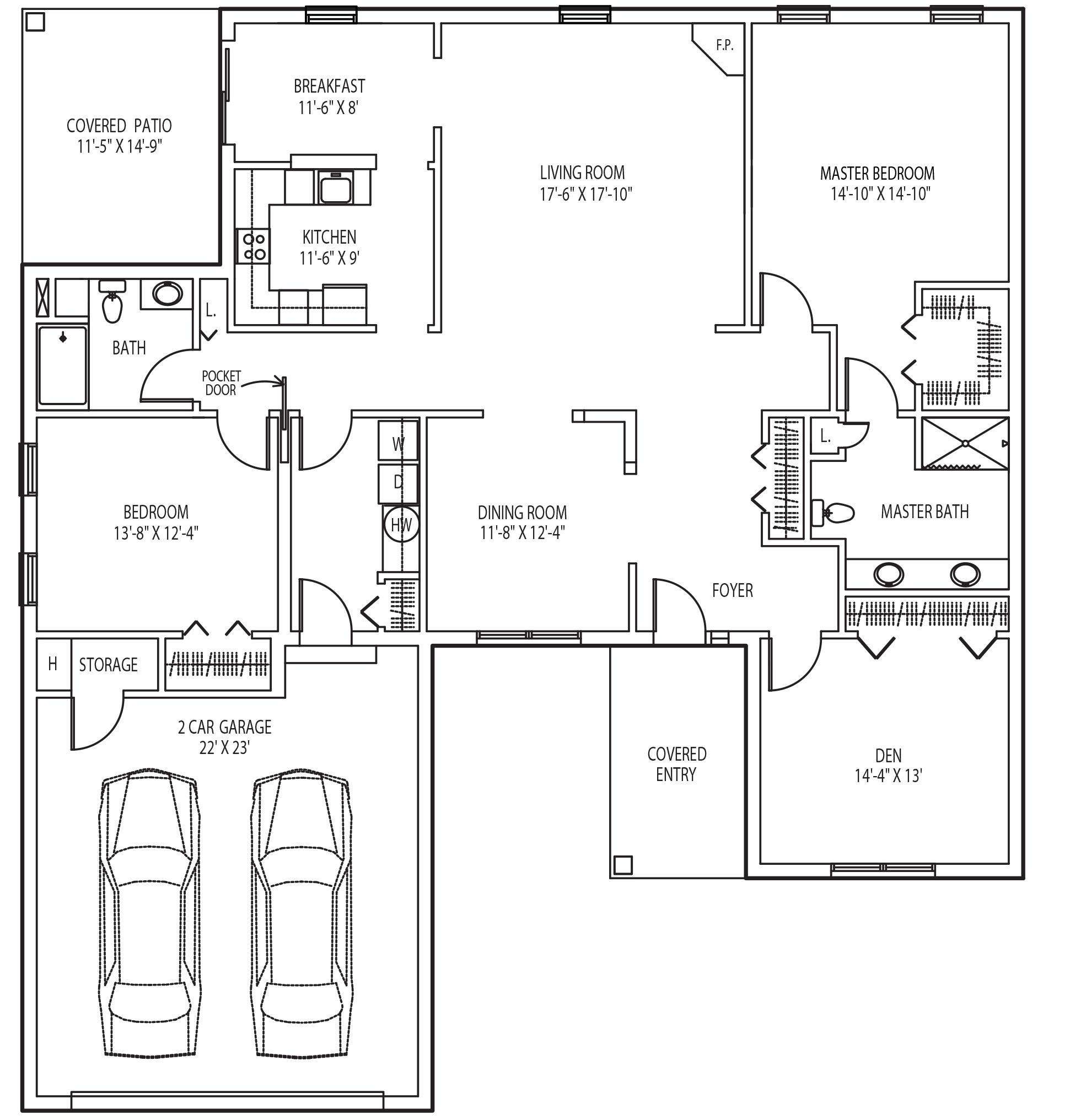 pinebrook floor plan