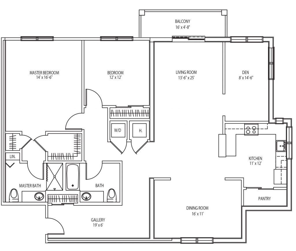 Avila Fenimore Floor Plan