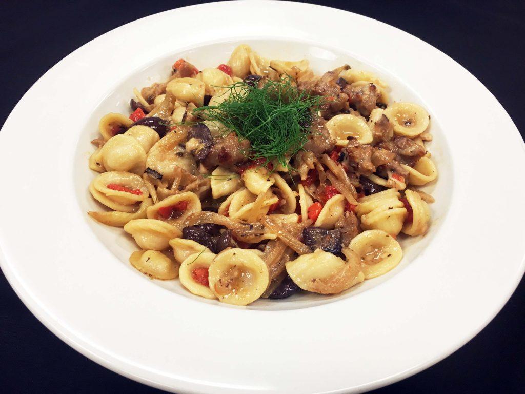 fennel-and-sausage-orecchiette