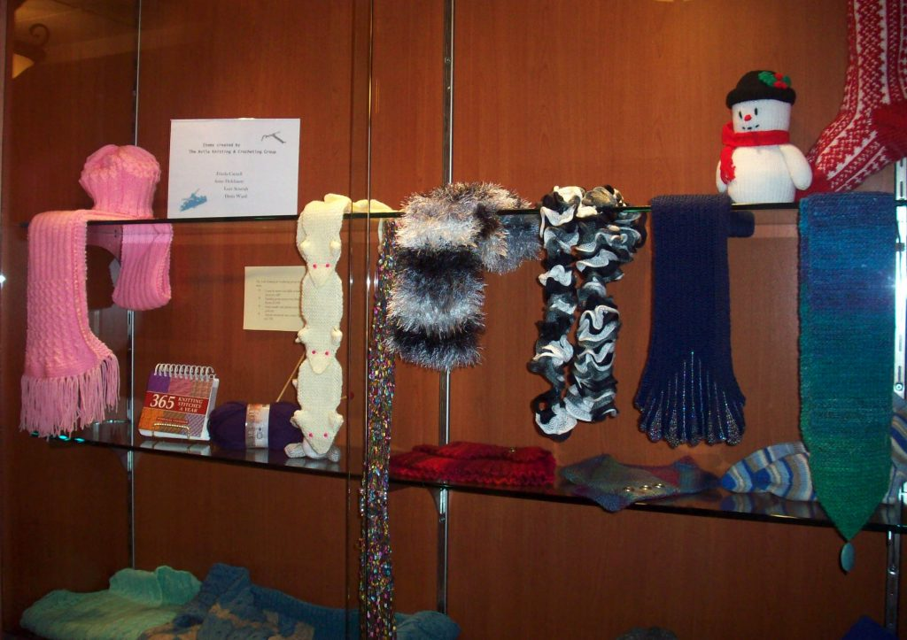 scarves made at Avila
