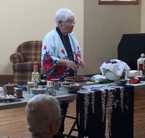 Making Sushi at Avila