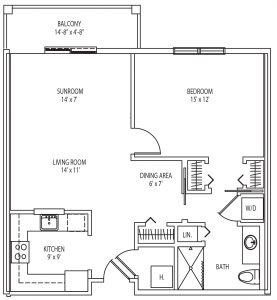 Bolton floor plan