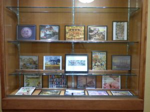 Puzzle Display at Avila