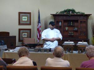 Chef Brandon - Avila Retirement Community