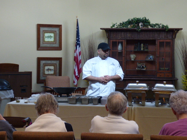 Chef Brandon - Avila Retirement Community