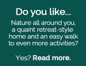 Question to the reader: do you like nature all around?