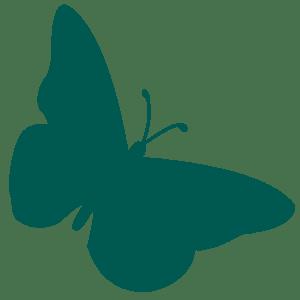 Avila green butterfly favicon