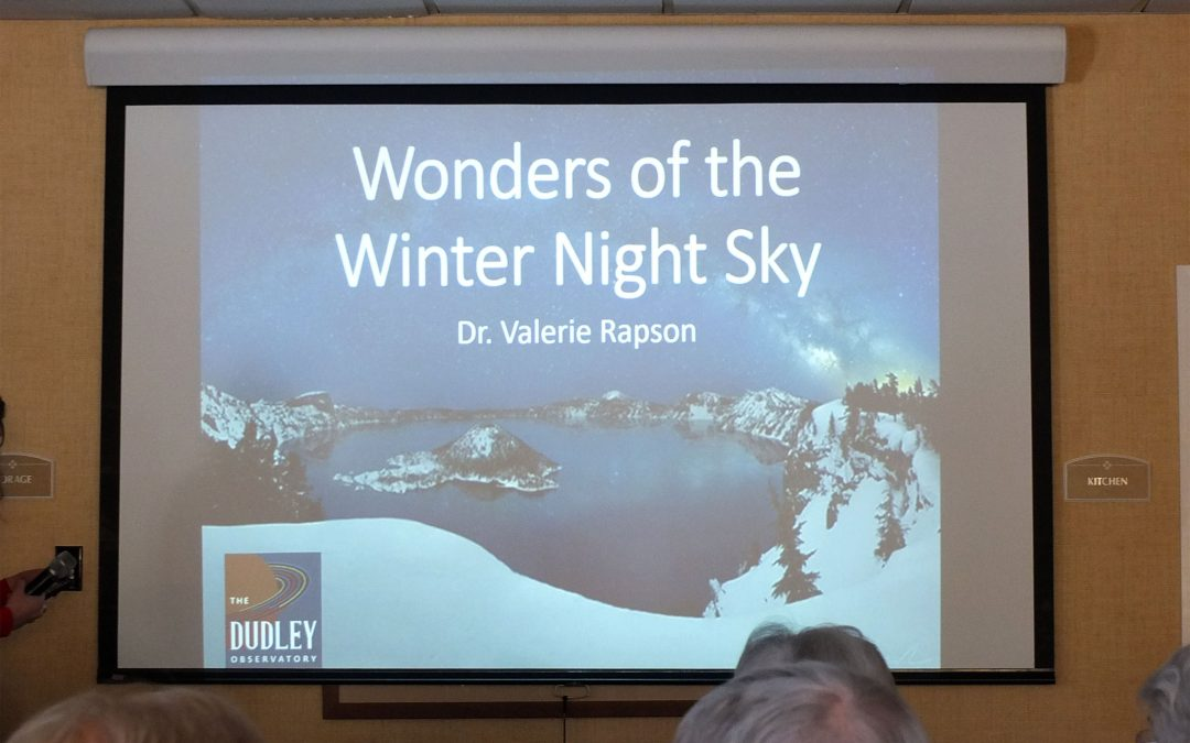 Lifelong Learning Series: The Wonders of the Winter Night Sky