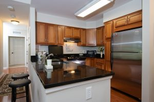 Kitchen in The Sagamore Apartment